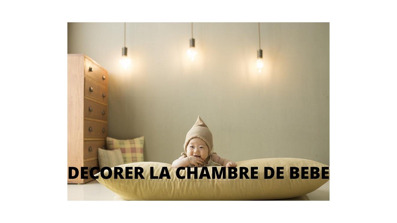la décoration chambre bébé